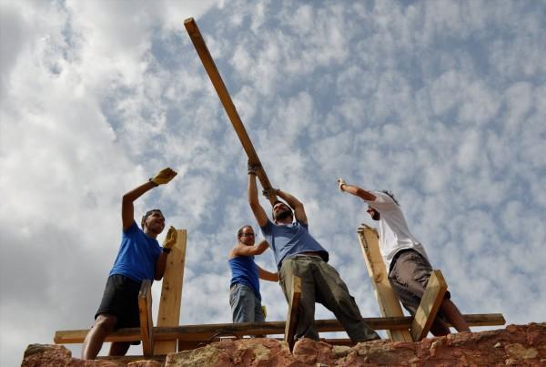 Construyendo la torre. FWF