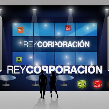 Stand REY Corporación. Feria del Mueble Zaragoza