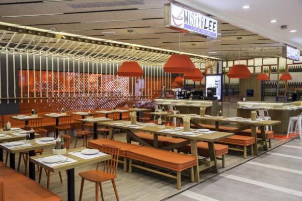 Mister Lee Restaurant Colaboración Cuarto interior. Foto diario design