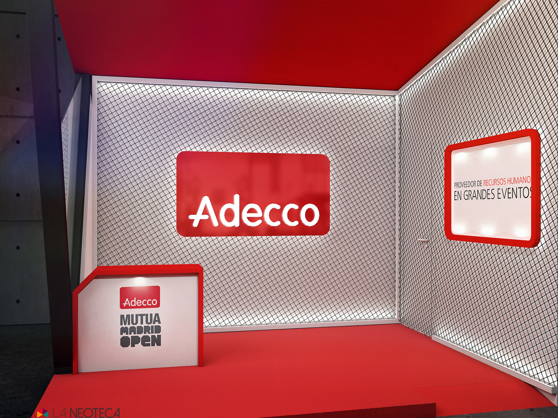 STAND ADECCO MADRID OPEN TENIS 2016